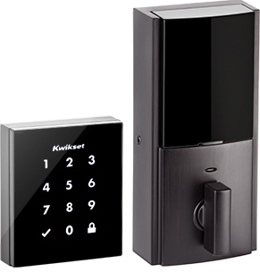 Kwikset Obsidian touchscreen digital deadbolt