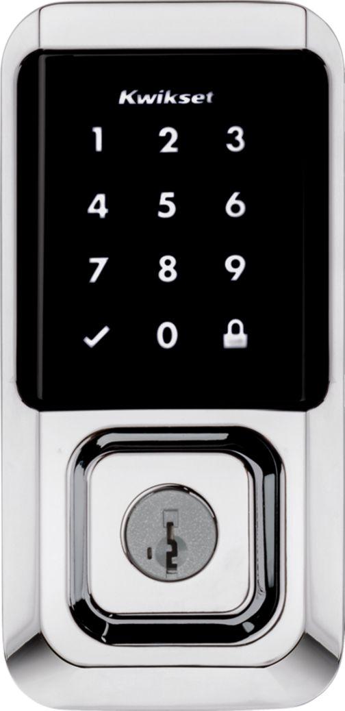 Halo Wi-Fi Touchscreen smart deadbolt Wii-Fi door Lock contemporary Polished Chrome