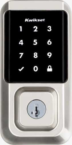 Contemporary style Halo Wi-Fi smart front door lock