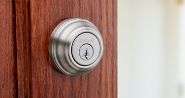 Kwikset traditional deadbolt